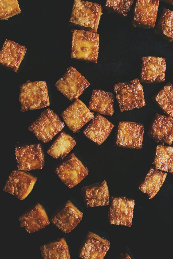 Crispy Baked Tofu | With Food + Love Don't know if I like the recipe itself, but good tips for tofu!