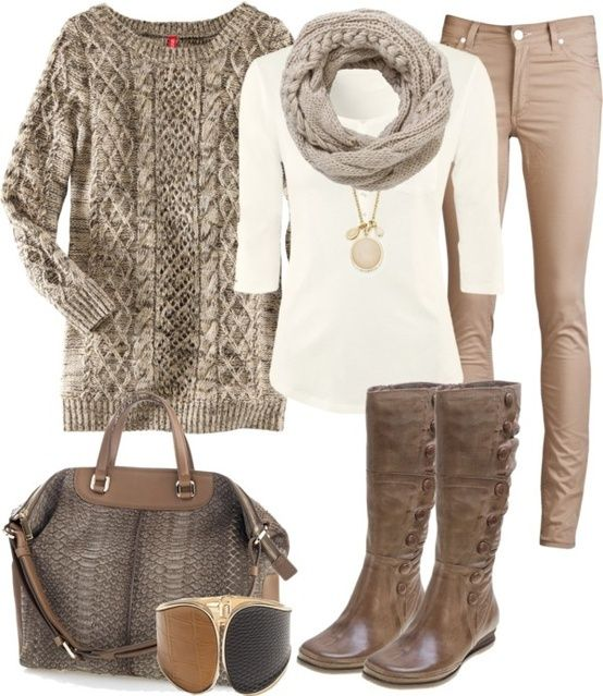 fall style.... im in love. Love the color combo!