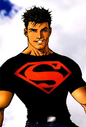 Superboy from the Teen Titans