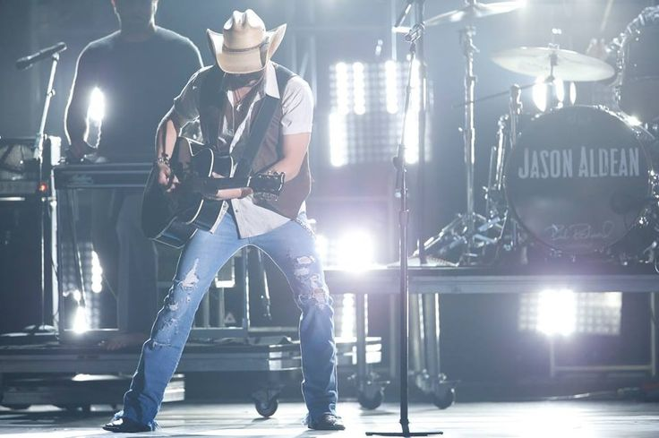 Jason Aldean- something about a man with a guitar!!