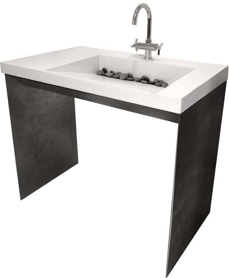 43 Best Custom Concrete Bathroom Sinks Trueform Concrete Images On Pinterest Concrete
