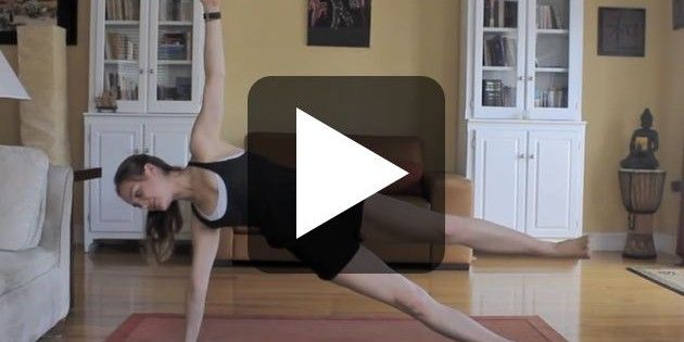 Yoga Core Strength Workout – Day 5 – 30 Day Yoga Challenge