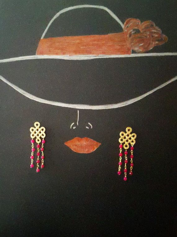 Orecchini pietre dure Agata e perla barocca di LArteDeiParticolari