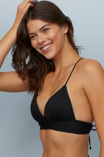 579276a64be12 Push-up Triangle Bikini Top in 2019 | clothes | Bikinis, Bikini tops ...