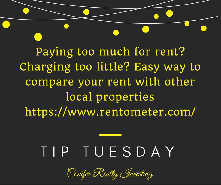paying too much for rent? Check here!