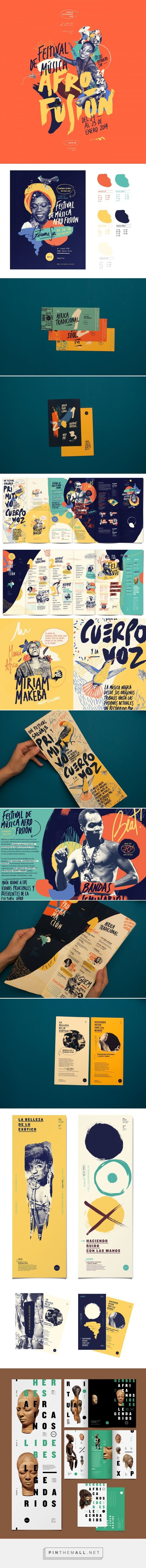 AFRO FUSION FESTIVAL on Behance - created via https://pinthemall.net. If you like UX, design, or design thinking, check out theuxblog.com