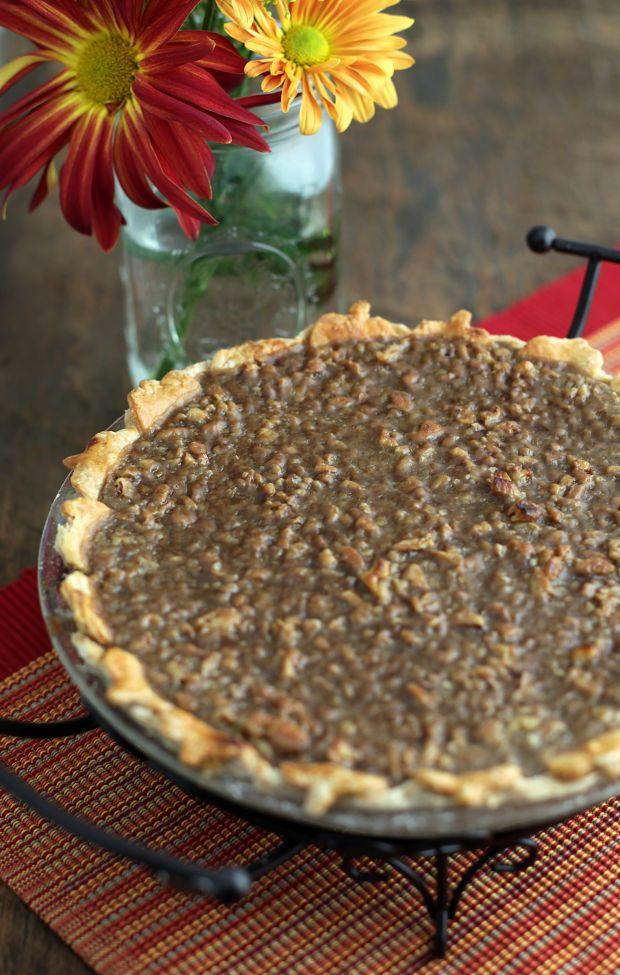 ... Recipes From Our Post-Dispatch Pie Contest ~ Praline Pumpkin Pie