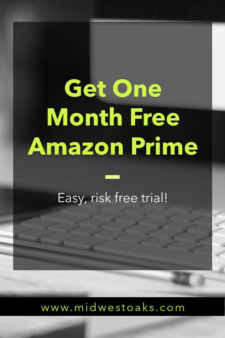 How To Get A Free Trial For Amazon Prime