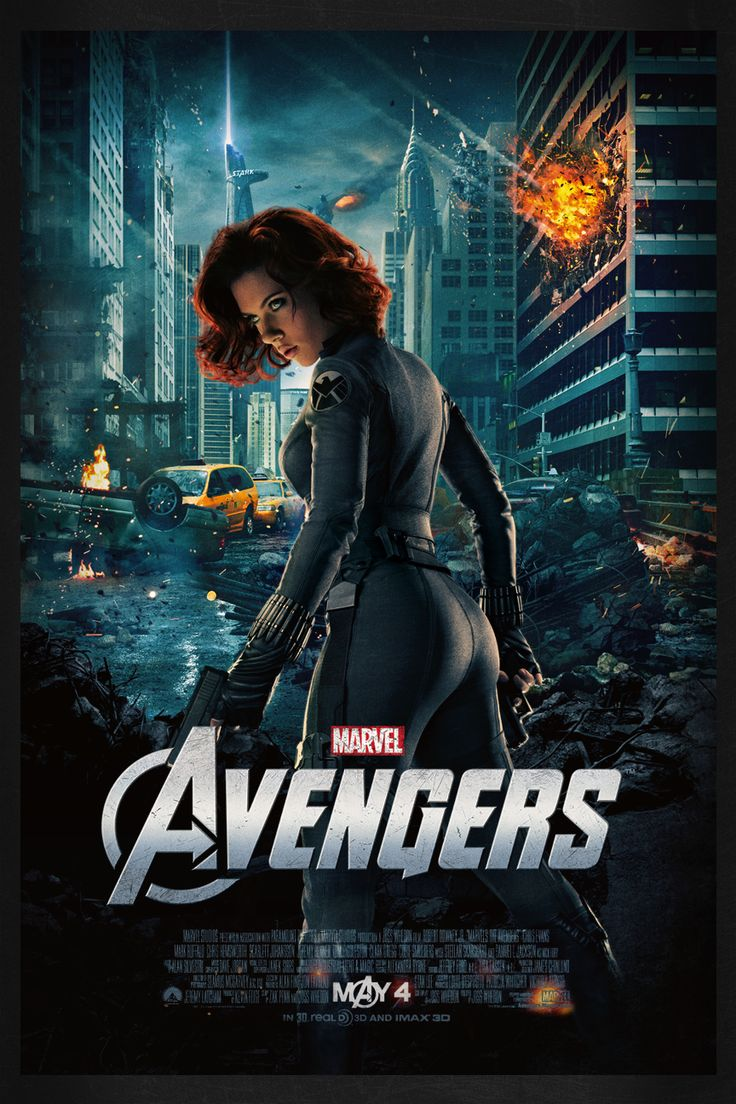 The Avengers: Black Widow | Theatrical Poster by Squiddytron ...