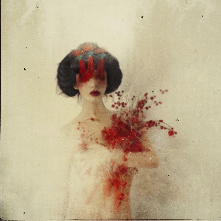 Photography work - self portrait by Rimel Neffati