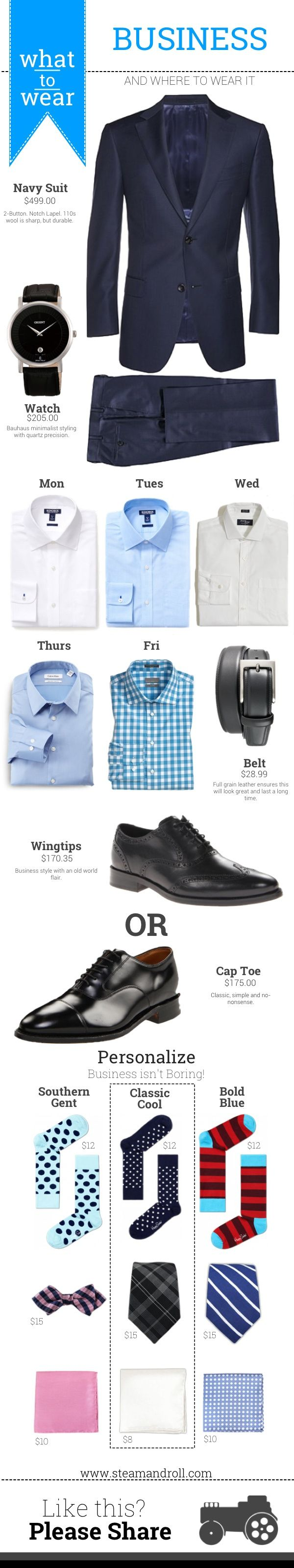 When your workplace requires a business dress code, this is what to wear.