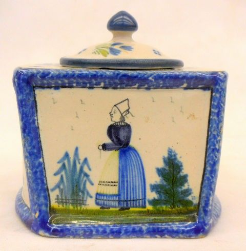 vintage Quimper inkwell |Pinned from PinTo for iPad|
