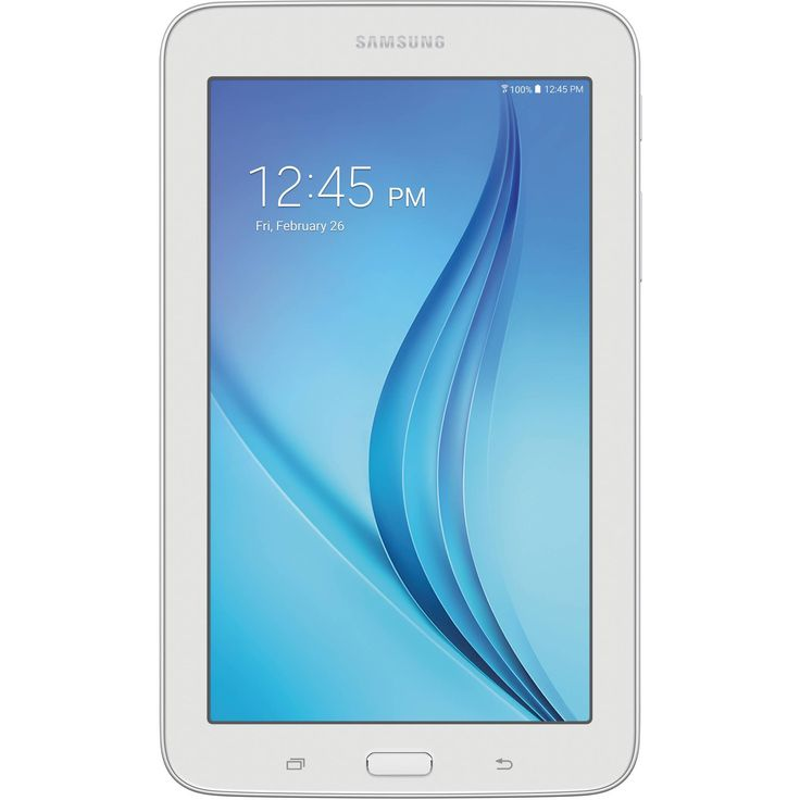 """Samsung Galaxy Tab E Lite with WiFi 7.0"""" Touchscreen Tablet PC Featuring Android 4.4 (KitKat) Operating System"""