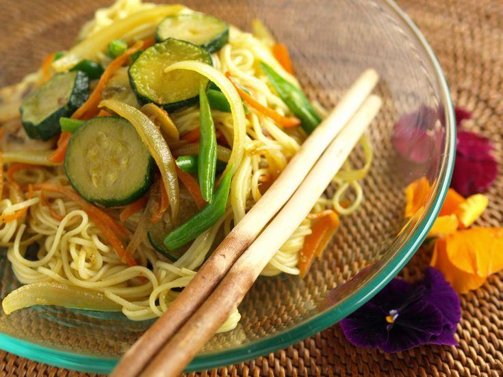 カレー風味そうめんチャンプルー |きちんとレシピ|フードソムリエ