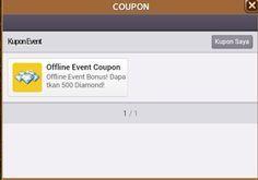 Rahasia kode kupon offline event coupon get rich 2016