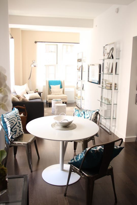 1000 ideas about small living dining on pinterest - Small living room and dining room ...