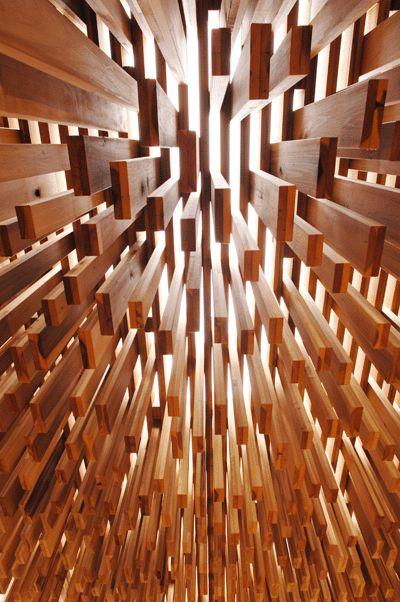 Impresionante instalación temporal en Londres por David Adjaye