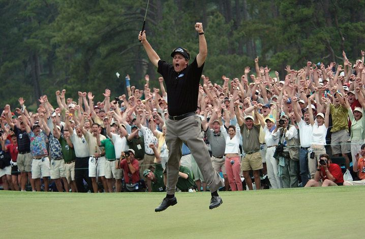 Phil Mickelson, 2004 Masters Champions   Masters