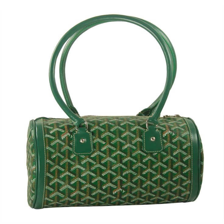 Goyard Handbag | From a collection of rare vintage handbags and purses at http://www.1stdibs.com/fashion/accessories/handbags-purses/