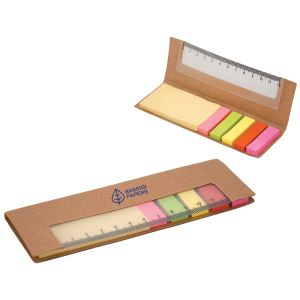 Ovation Group - Corporate Promotional Products & Ideas - 300 Sticky Notes With Ruler