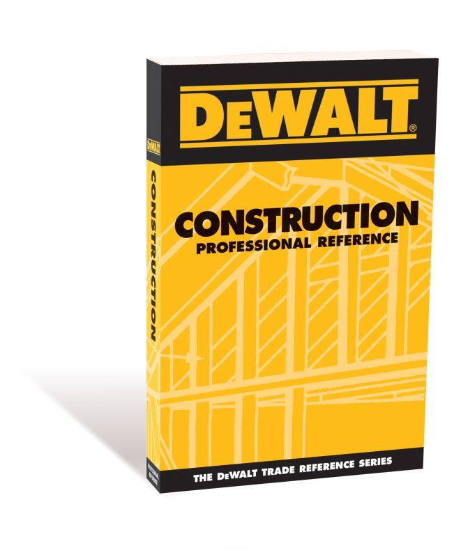 ASP 3703 DeWALT Model DCONP00 Construction Professional Reference - professional reference