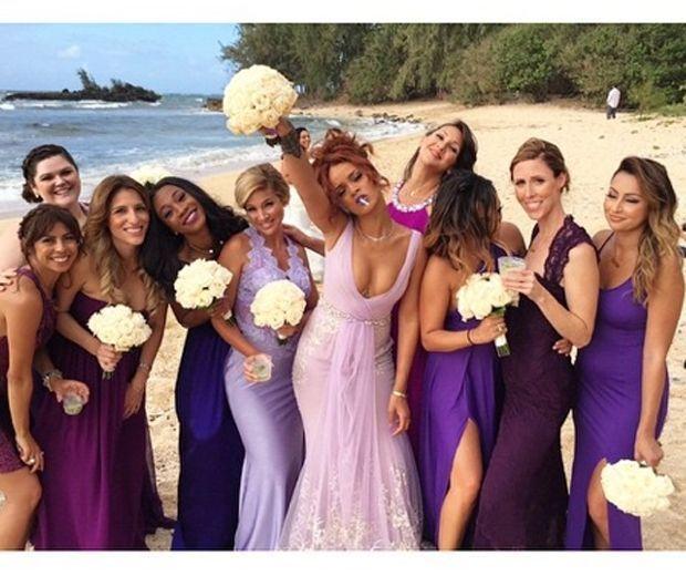 Hawaiian Wedding Bridesmaid Dresses Artist