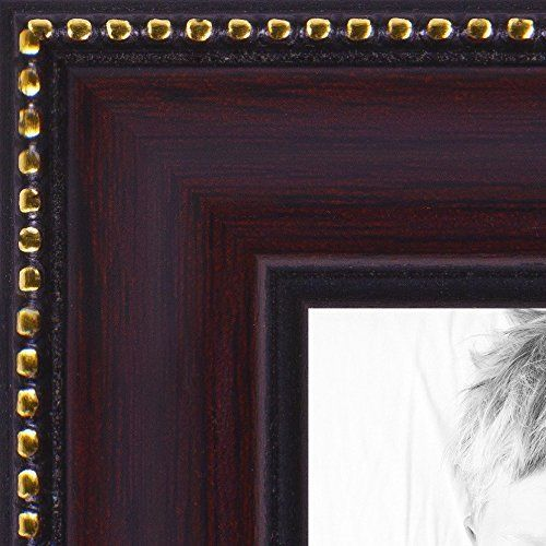 ArtToFrames Wood Picture Frame WOM00668088612020x30 20x30 inch Mahagony with Gold Beads *** Check out the image by visiting the link.