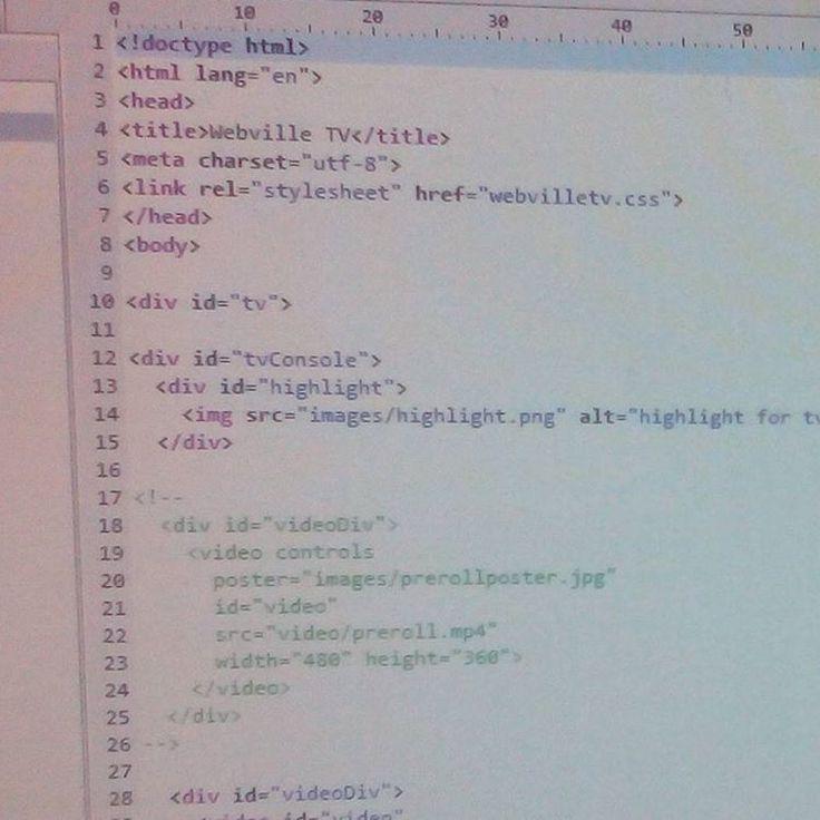 Сегодня понедельник а значит где-то в мире кто-то что-то опять не начал или перенес на неделю.  Я же продолжаю заниматься в сфере веб-разработки и двигаюсь вперед огромными шагами. Поэтому теперь по тегу #prettyhtml5 будет классненький дневничок.  А как у вас дела? #prettyhtml5 #html #css #js #javascript #pspad