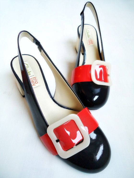 modflowers: orla kiely for clarks shoes