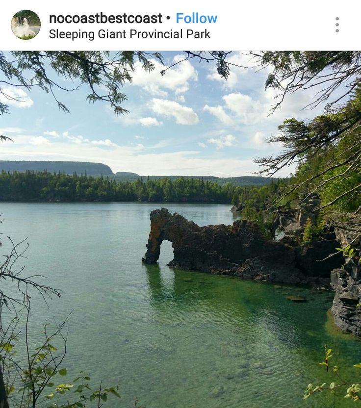 Sleeping Giant, Ontario parks