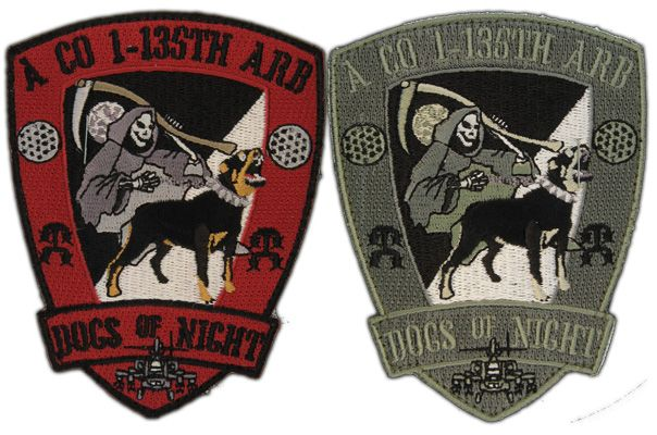 ACU Embroidered Aviation Patches, Custom Army Unit Patches