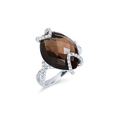 ALO diamonds Aristokrat ring