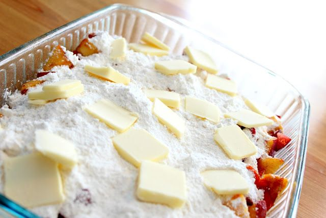 Fresh Cooked Plums And Dump Cake Recipes