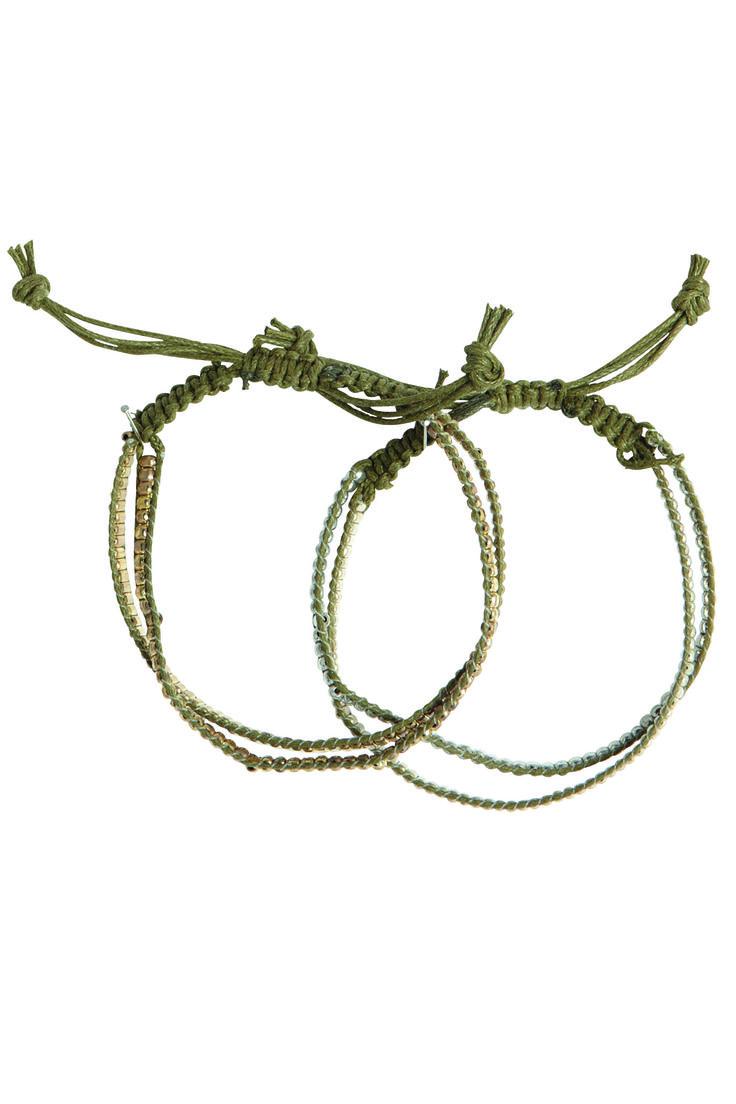 Armband Peru Kaki House Doctor via http://www.toefwonen.nl/a-30202776/sieraden/armband-peru-kaki/
