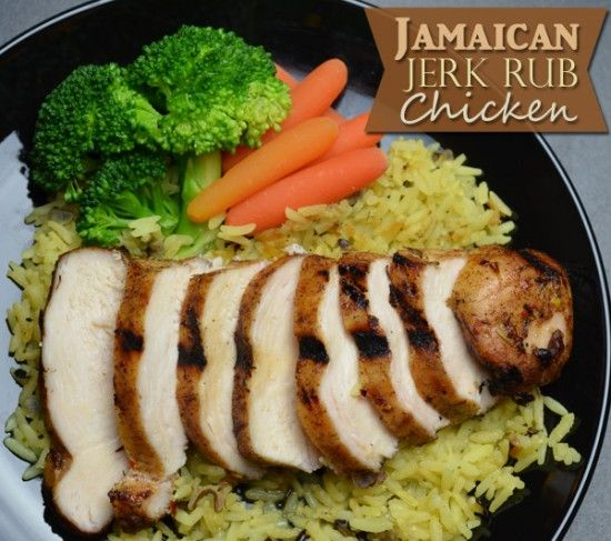 Check out Jamaican Jerk Rub Chicken. It's so easy to make! | Chicken ...