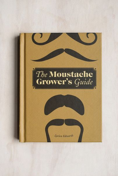Lucien Edwards - Moustache Grower's Guide - This book will give you different ideas about how you can wear your moustache. Find it at NoteMaker.com.au