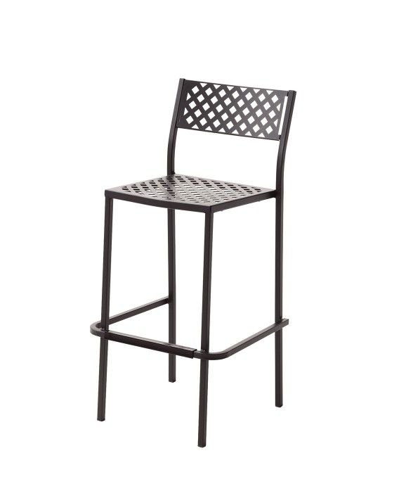 Remy 1077 Outdoor Armless Bar Stool