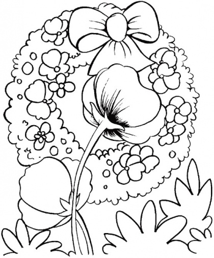 beautiful wreaths for memorial day coloring pages remembrance day coloring pages kidsdrawing free coloring pages online