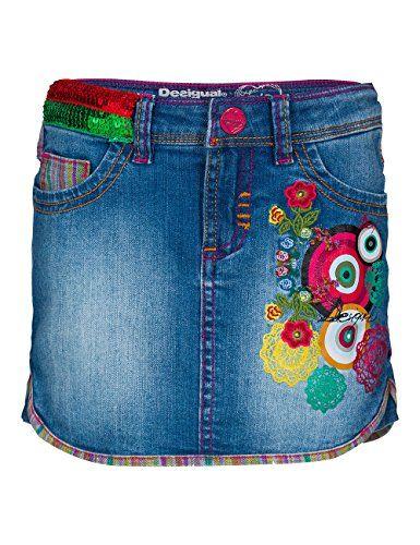 Desigual Girls Aligustre Skirt, Blue (Denim Light Wash 5007), 14 Years (Manufacturer Size: 13/14) Desigual http://www.amazon.co.uk/dp/B00OK6Y344/ref=cm_sw_r_pi_dp_6pCMvb0HYGEH2