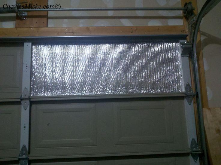 Insulation Panels Product : Best garage door insulation ideas on pinterest diy