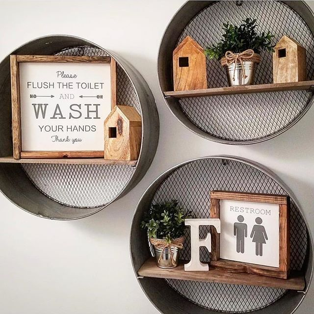 Round Wall Shelves, Round Wall Decor With Shelves