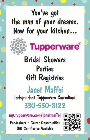 janet maffei independent tupperware consultant
