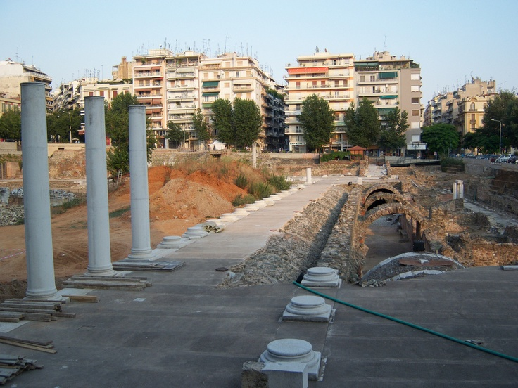 Ancient Agora, Thessaloniki, Greece