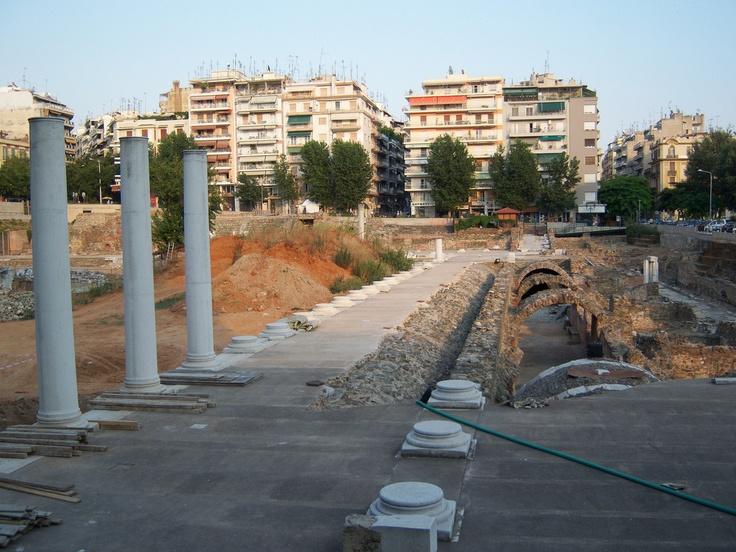 Ancient Agora, Thessaloniki, Greece