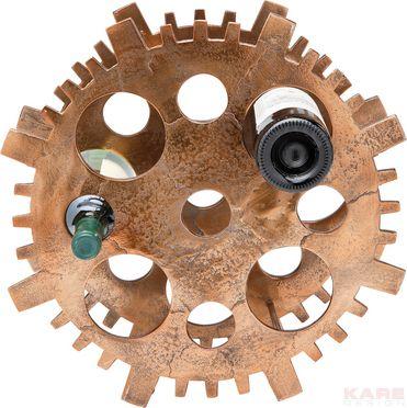 Wine Rack Gear Copper