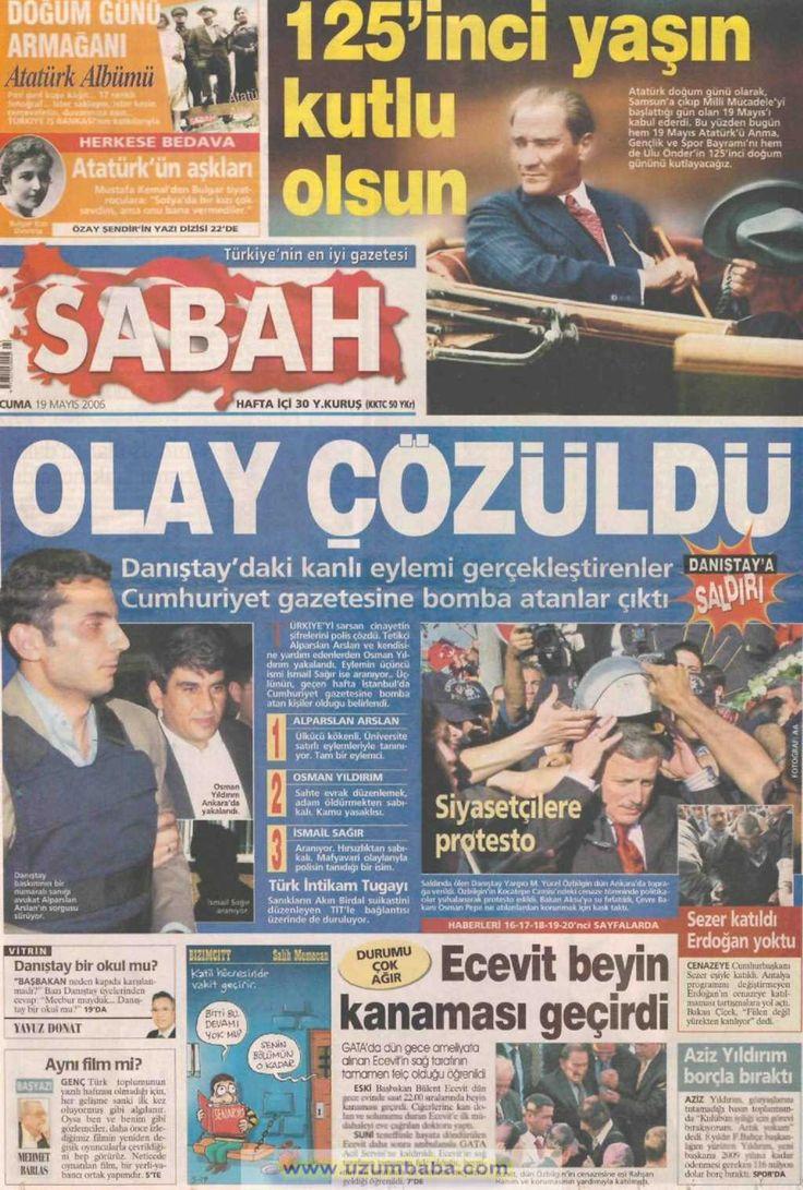Sabah gazetesi 19 mayıs 2006