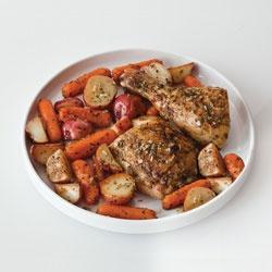 Herbes de Provence Roasted Chicken and Potatoes Allrecipes.comSeasons Chicken, Chicken Recipe, Potatoes Recipe, Food, Roasted Chicken, Potato Recipes, Chicken Potatoes, Herbs De Provence, Provence Roasted