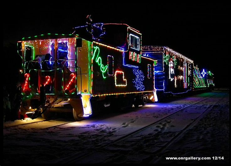 The 2015 Ontario Northland Christmas Train.  My hubby was Santa!