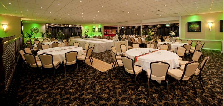 Our Modern Arlington Suite set up for banquet!!