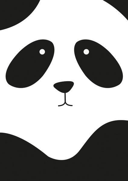 Panda Art Print by Scott Coleman | Society6